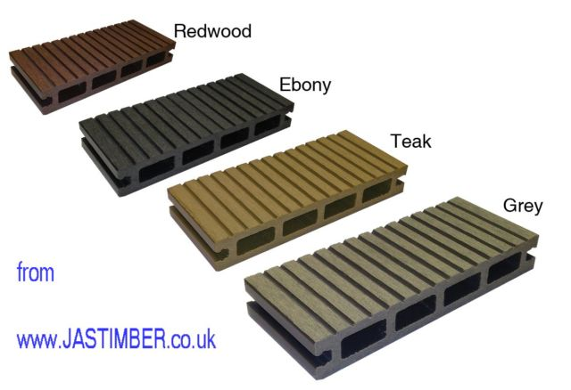"Everlast Decking - 6"" Composite Deck Board - TD001 Hollow Honeycomb Profile 22x146mm x 3.6 metre"