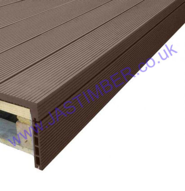 Solid Composite Decking Corner Angle 55x146mm x 2.4 Metre | Everlast Deck Fittings