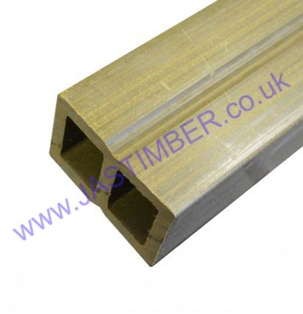 Teak Standard Decking Joist 3600x40x60mm | Everlast Deck Fittings