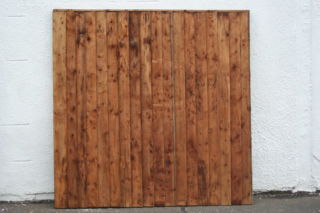 Photography of Vertically-Boarded Treated Timber FENCE PANELS
