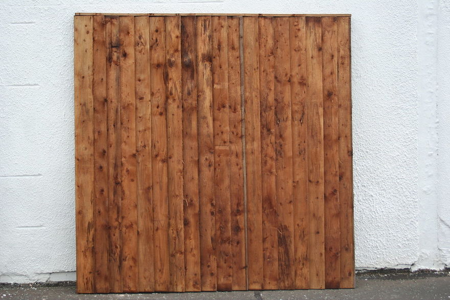 Fence Panel Vertical Board