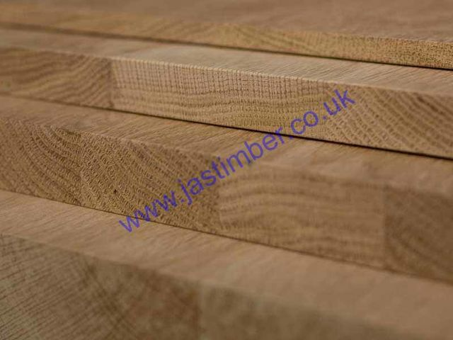 600mm Oak Jointed Board - 18mm or 19mm finish