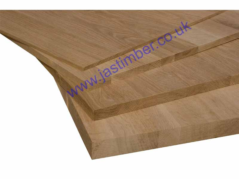 Solid OAK - Jointed-Board - 4 thicknesses