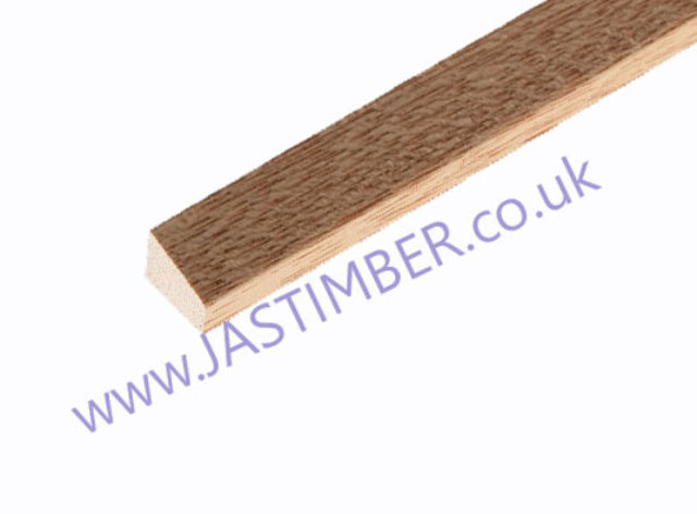 Wedge Bead HTM888 ( 15x12mm x 2.4 metre ) Dark Hardwood Moulding