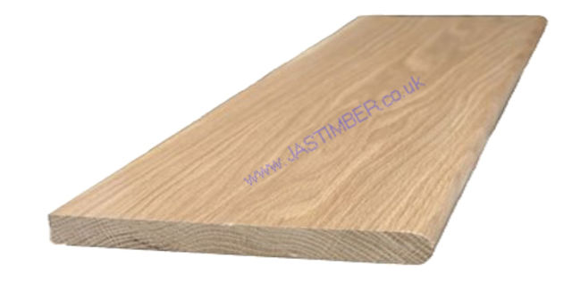 "Oak 10"" Window-Board (Finished size: 19x235mm) Nosed one edge"