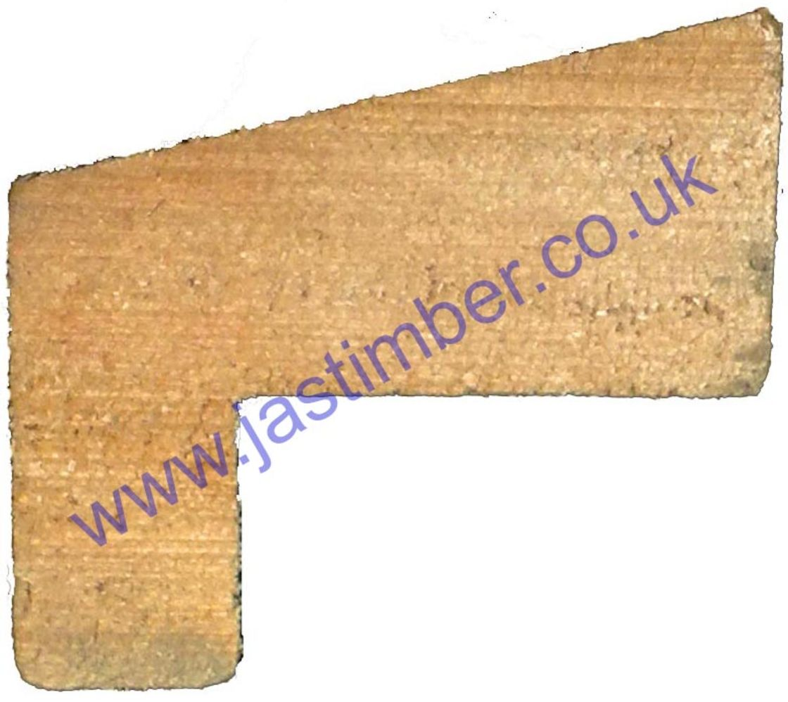 Hockey Stick Fire Door Bead - FB1062 - OM025 - OAK