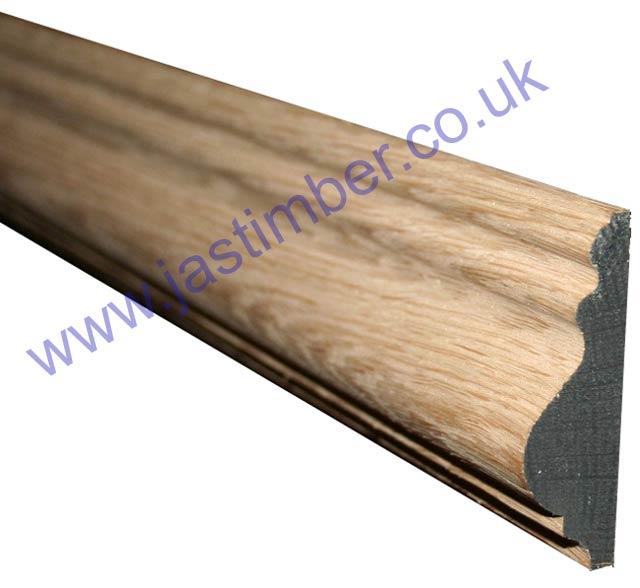 """3"""" Oak Dado Rail (20x67mm"""