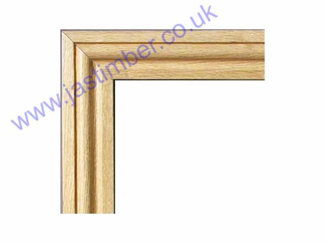 "OAK 3"" OGEE ARCHITRAVE SET - OARSET-OG XL"