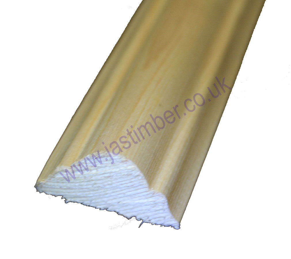 2 double astragal pefc timber moulding fb390 for Decor moulding