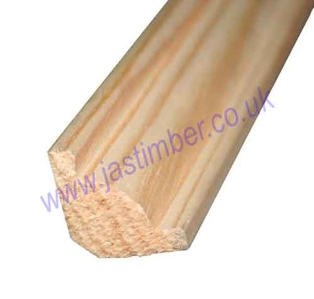 COVING MOULD (20x20mm x 2.4 Metre.) Pine FB238