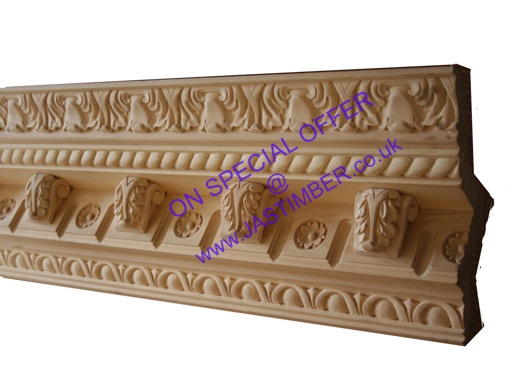 Carved Timber Cornice Moulding