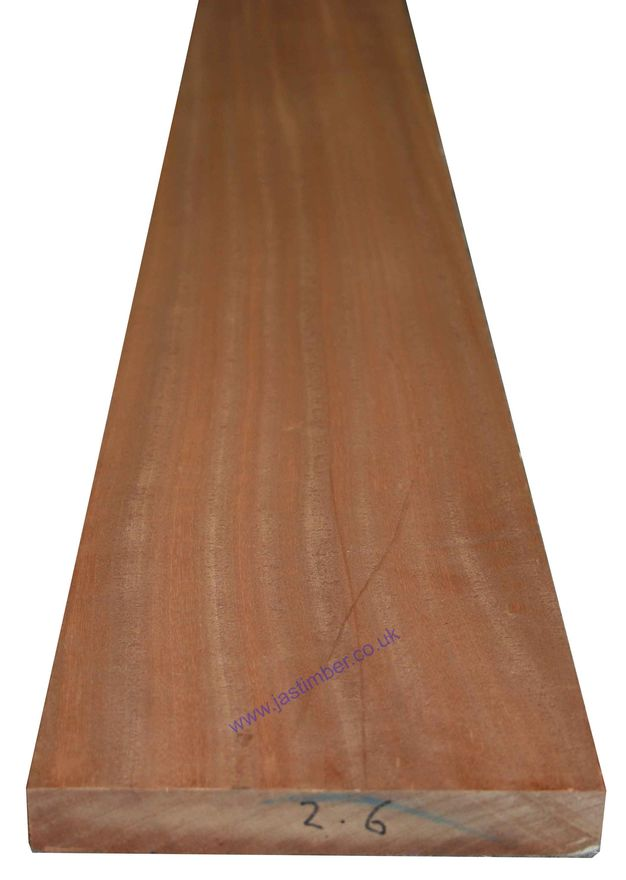 9x1.5 Sapele Hardwood - length