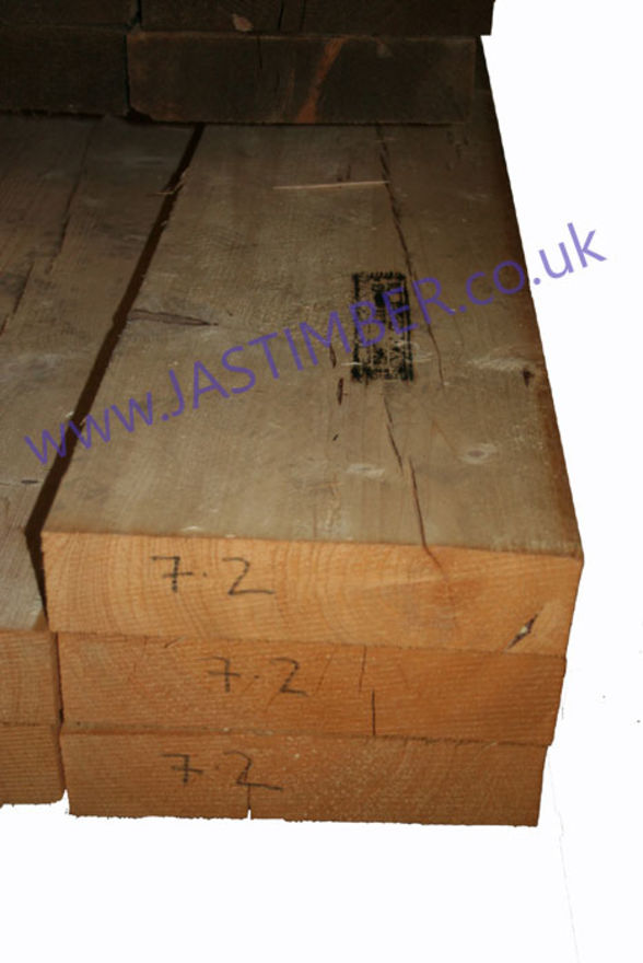 12x4 Rough Sawn Timber Beam
