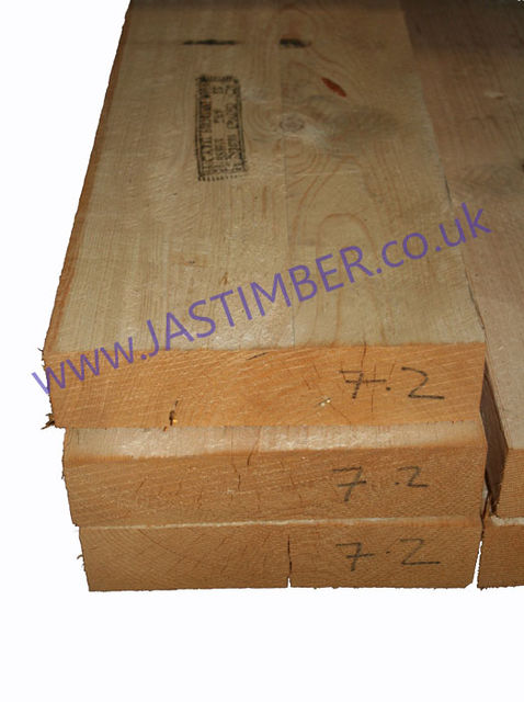 12x4 R/S Sawn Carcassing ( 100x300mm ) SSC16/24 WET Graded Whitewood