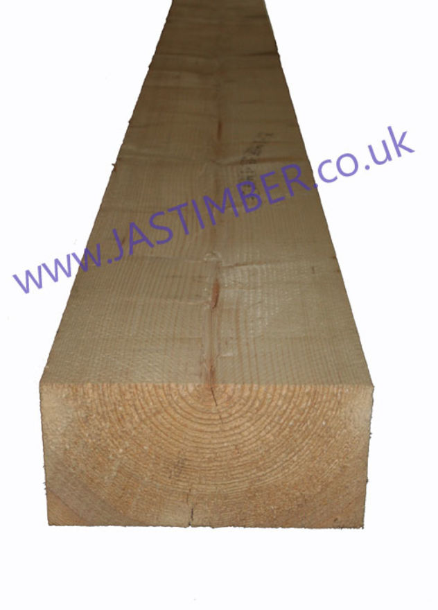 12x6 Rough Sawn Timber