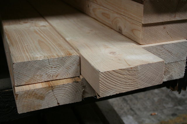 5x2 Rough Sawn Carcassing Timber