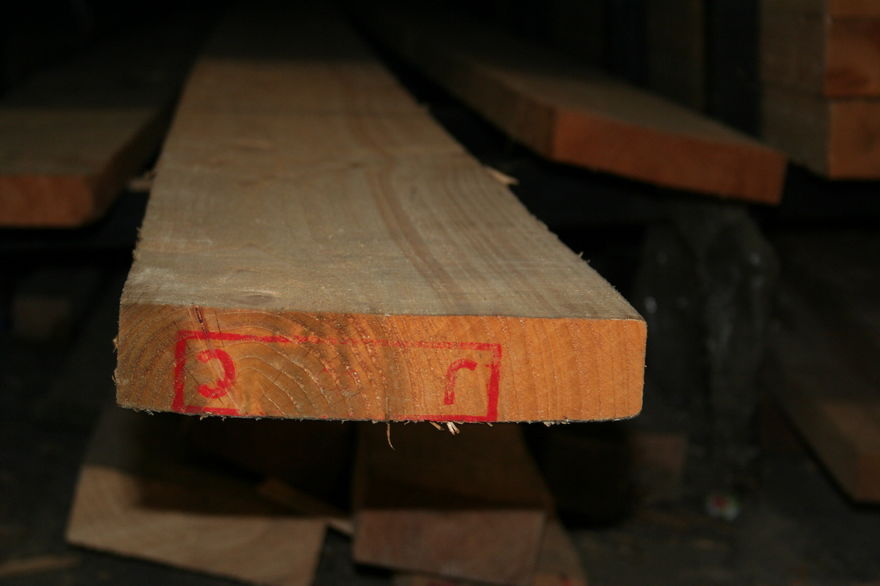9x2 Rough Sawn Timber