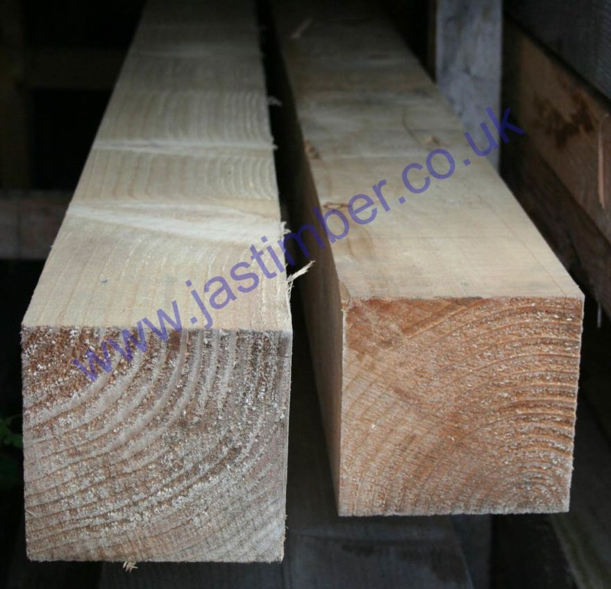 6x6 Rough Sawn Graded Timber