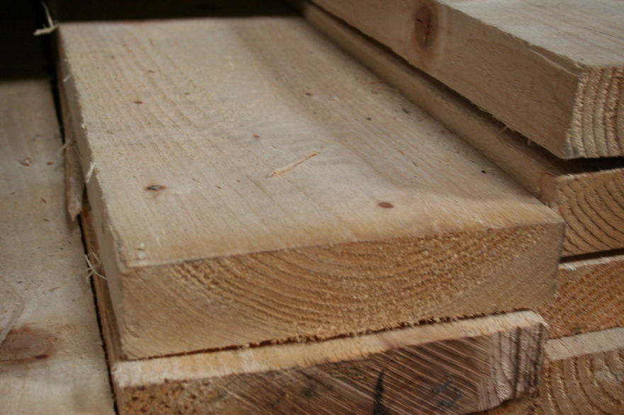 9x2 Rough Sawn Carcassing Timber