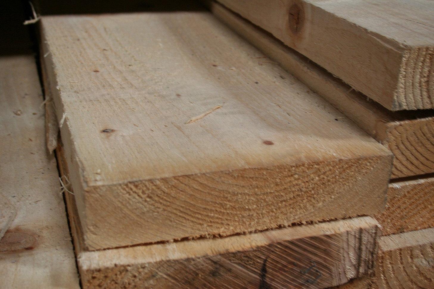 9x3 Rough Sawn Timber 75x225mm