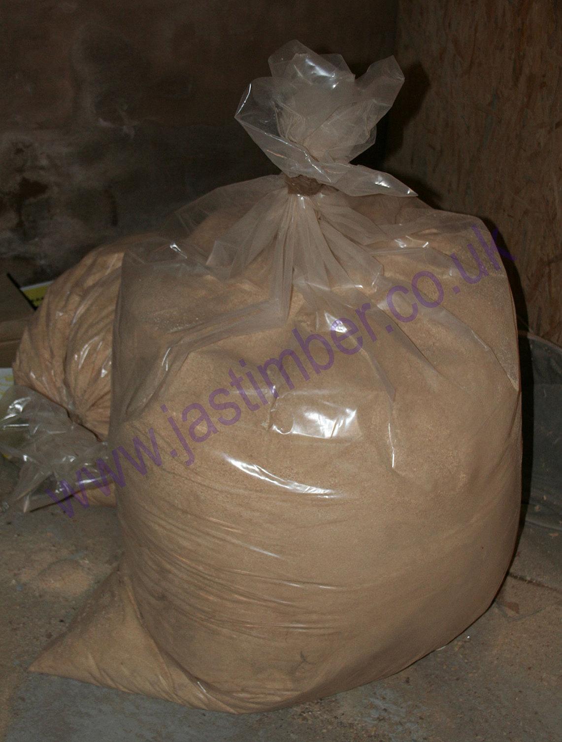 Bagged Pine Sawdust ~ Sawdust shavings bag g