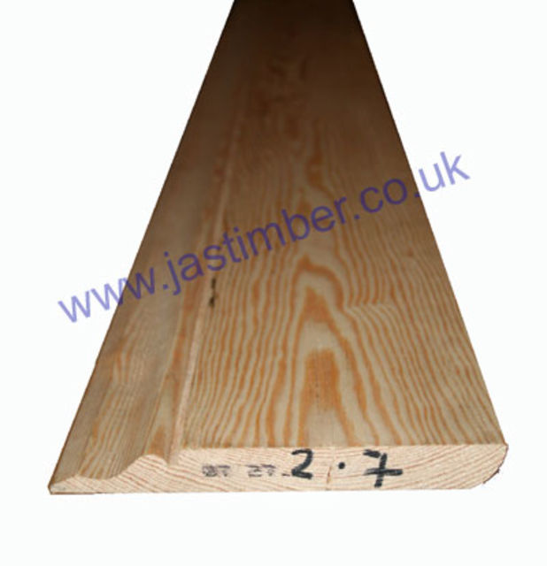 "7"" Ogee (ex 25x175mm /fin: 20x170mm) *Redwood - Softwood* Skirting Board"