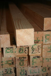 4x4 Planed *Redwood* Scandinavian Softwood (PSE ex 100x100mm - Finished:  95x95mm)