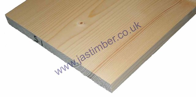 Softwood PSE Whitewood Prepared 11x1 Planed Timber