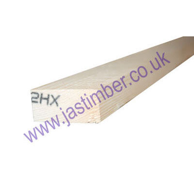 2x1 Planed Redwood PSE - Scandinavian Pine Softwood Timber