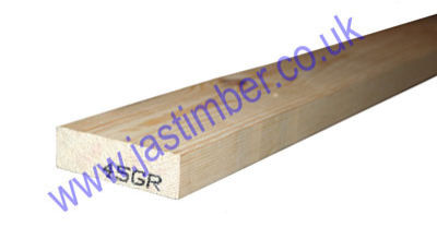 3x1 Planed Redwood PSE - Scandinavian Pine Softwood Timber