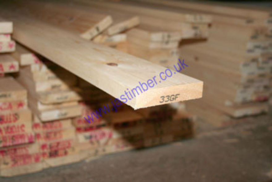 Redwood PSE 4x1 Softwood Timber