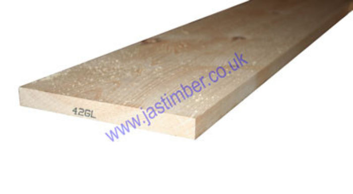 8x1 Planed Softwood *Scandinavian Redwood* (PSE ex 200x25mm - Finished size: 195x20mm)