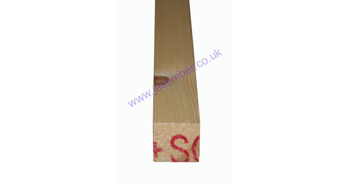 1.5x1.5 Planed *Redwood - Scandinavian Softwood* (PSE ex 38x38mm - Finished: 32x32mm)