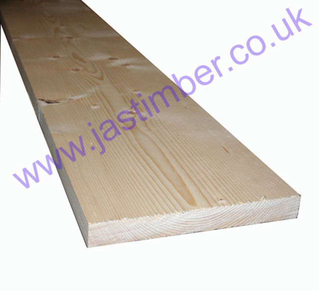 11x1.5 Softwood PSE Whitewood Timber