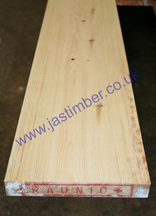 38x225mm 9x1.5 PAR Planed Redwood Timber