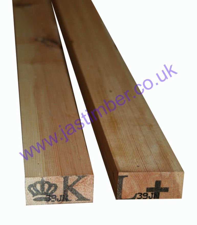 3x1.5 PSE Redwood Planed Timber - profile