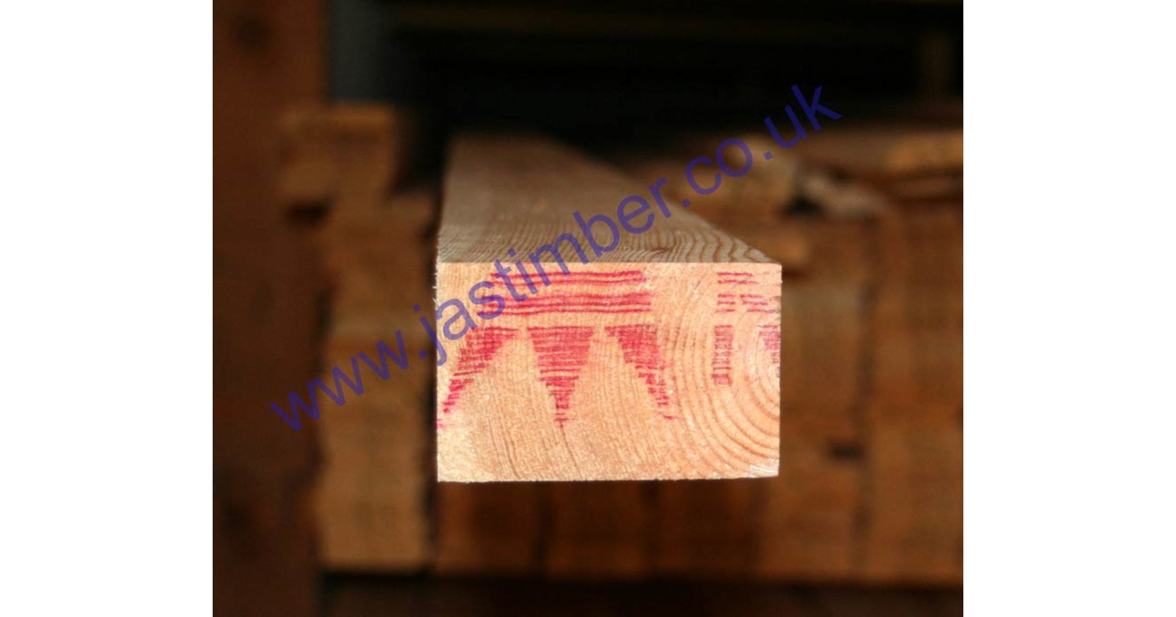 3x2 Planed *REDWOOD* Scandinavian Softwood (PSE ex 75x50mm - Finished: 68x44mm)