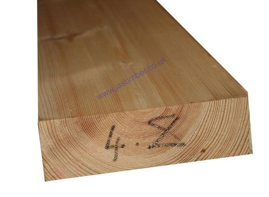 6x2 Planed *REDWOOD* Scandinavian Softwood (PSE ex 150x50mm - Finished: 145x45mm)