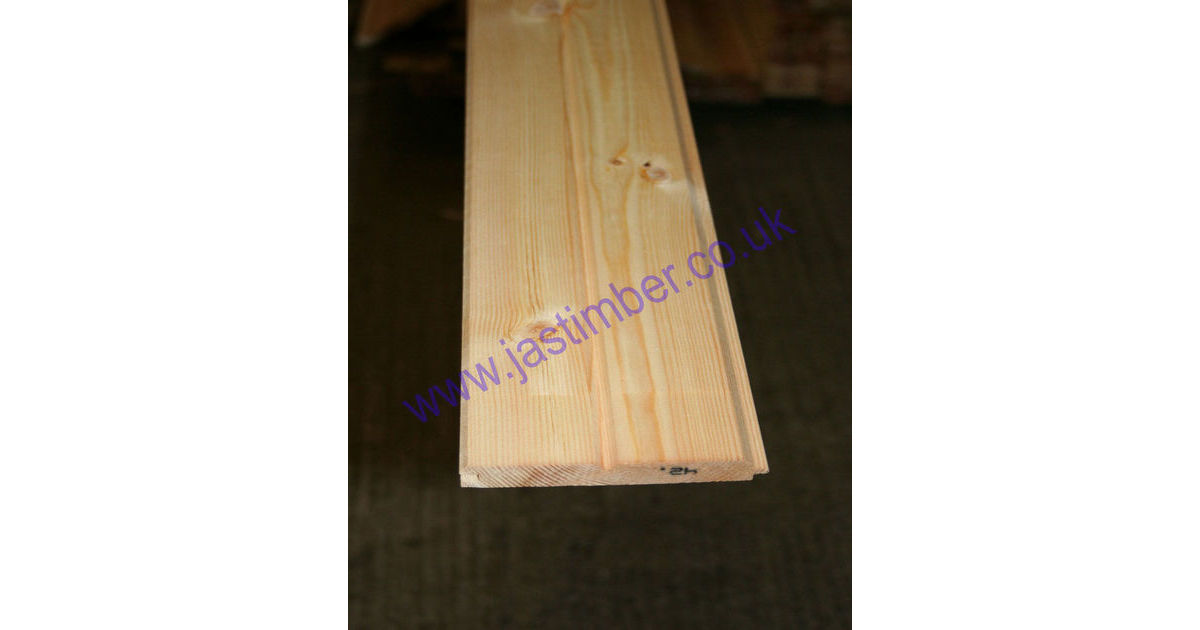 125mm Vt Amp G Dummy Groove Pine Cladding