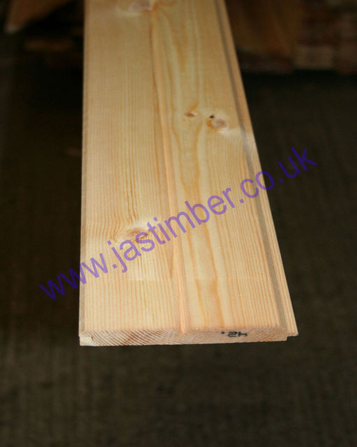 "4.5"" VT&G Dummy Groove Cladding (113x14mm) 4.5"" Cover"