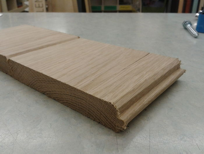 Oak V-T&G Floorboarding