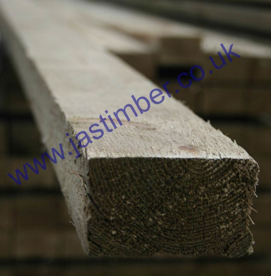 3x2 R/S **Treated** (47x75mm) Ungraded Timber