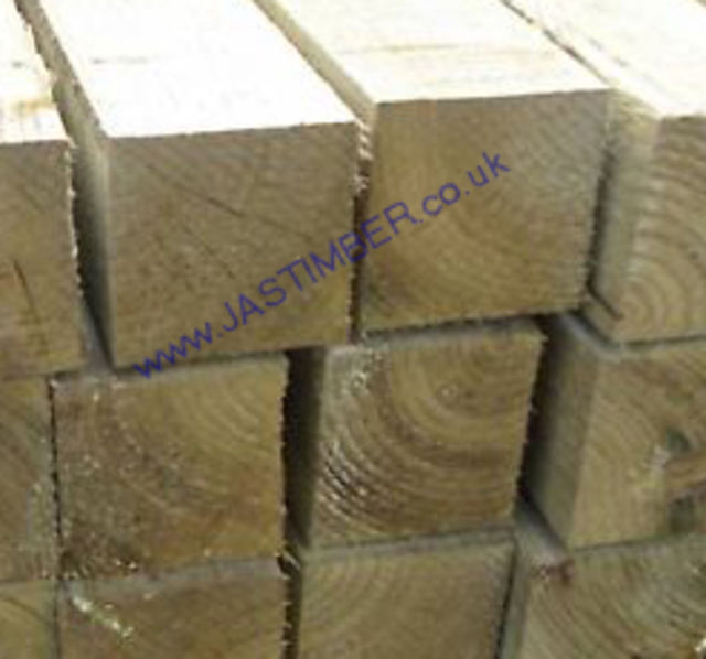 3x3 R/S **Treated** (72x75mm) Ungraded Timber