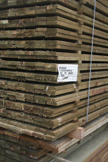 6x1 R/S **Treated** (22/25x150mm) Ungraded Timber