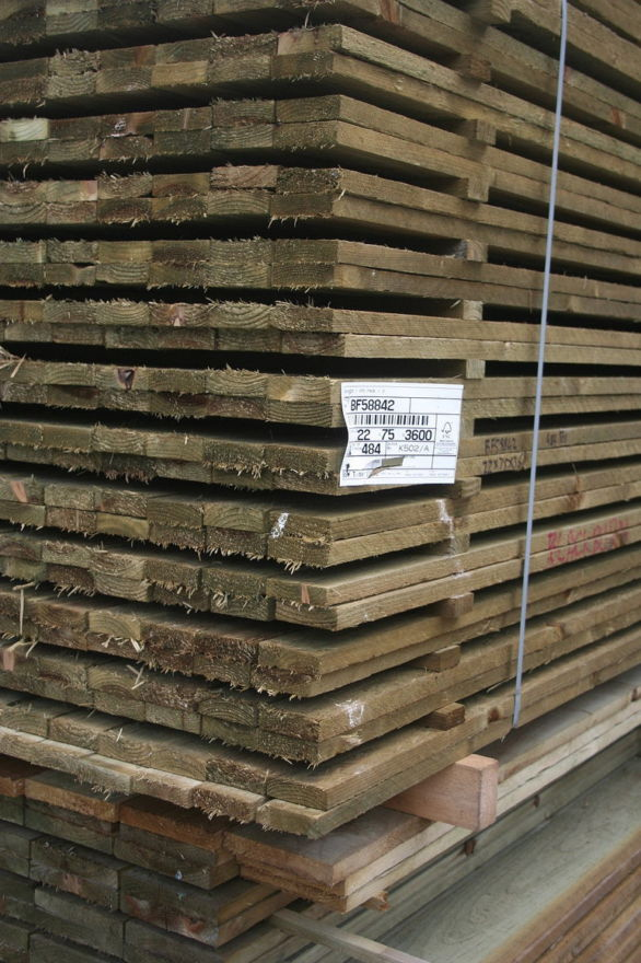 4x1 Treated Timber
