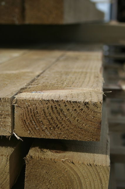 4x2 R/S **Treated** (47x100mm) Ungraded Timber