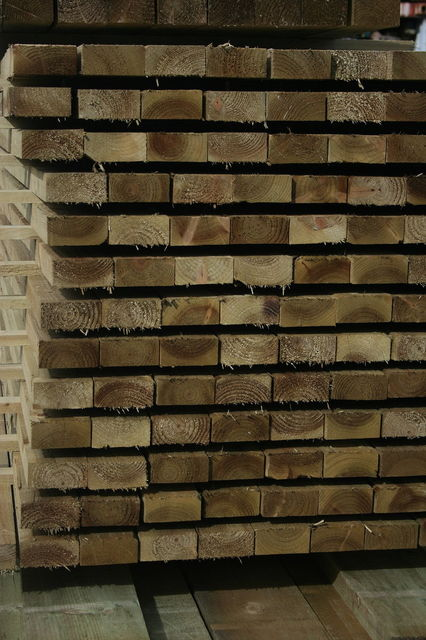 6x2 R/S **Treated** (47x150mm) Ungraded Timber
