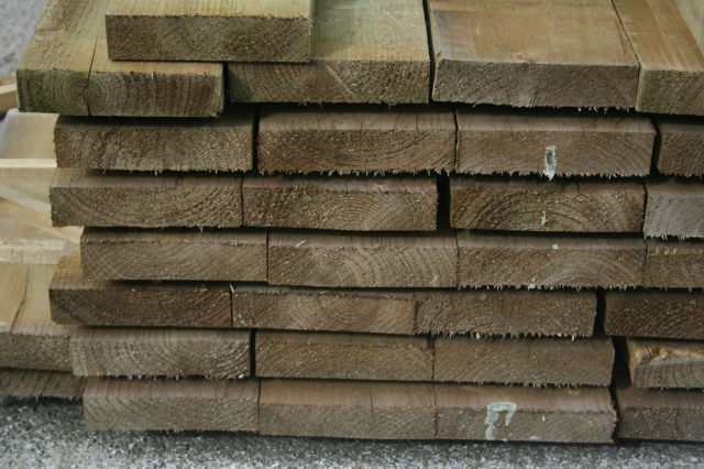 8x2 R/S **Treated** (47x200mm) Ungraded Timber