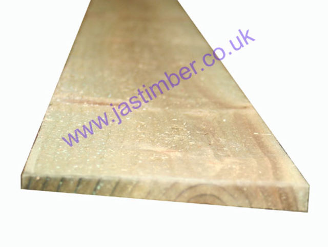 "5"" Feather Edge Board (ex 125x15mm) length 1.8 metre + 2.4 metre"