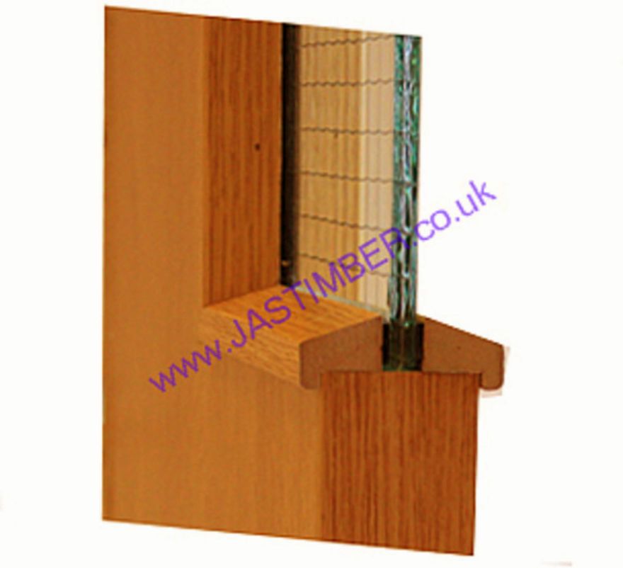 Anegre MDF Fire Door Glazing Bead